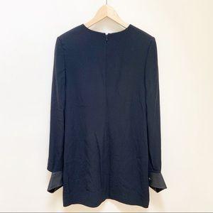 Helmut Lang Dresses - Helmut Lang black leather cuff mini dress 6